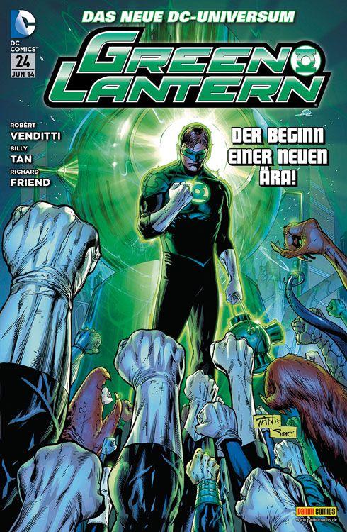 Comicreview: Green Lantern #24