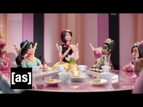Im Krieg sind die Disney-Prinzessinnen dann doch nicht mehr so zauberhaft