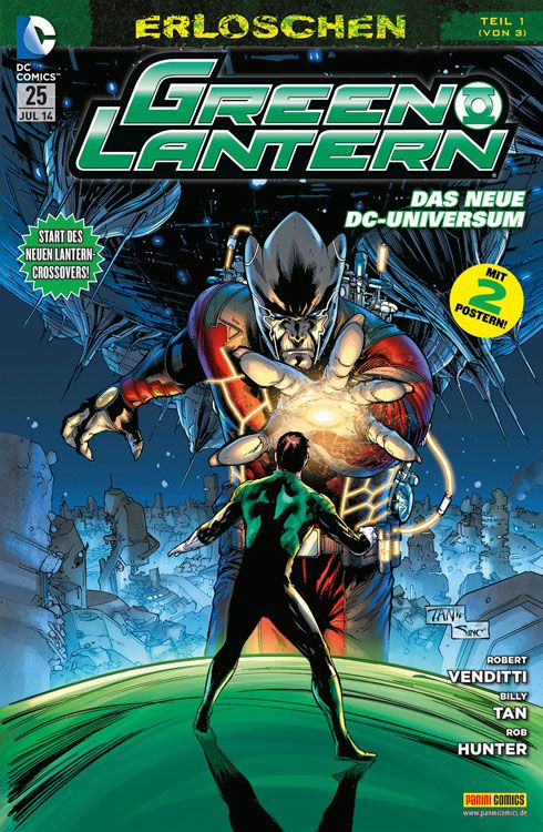 Comicreview: Green Lantern #25