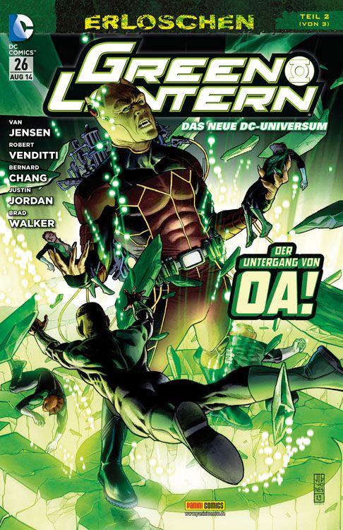 Comicreview: Green Lantern #26