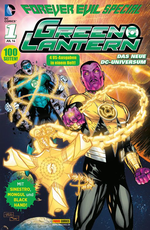 Comicreview: Green Lantern – Forever Evil Special