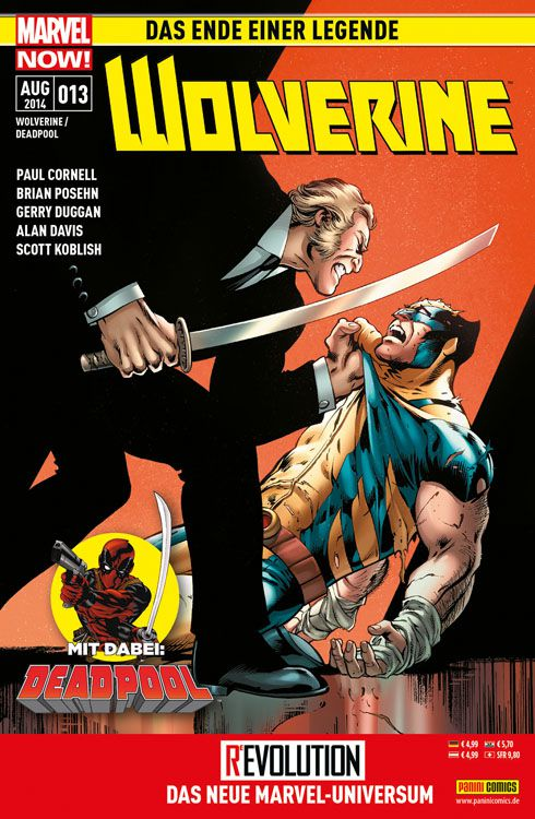 Comicreview: Wolverine & Deadpool #13