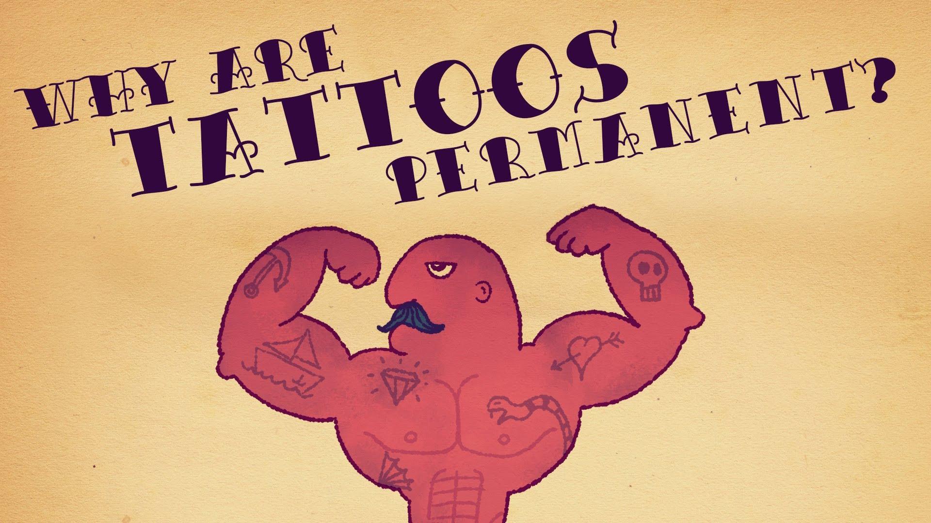 maxresdefault8I6WNHO7 Wieso sind Tattoos eigentlich so permanent?