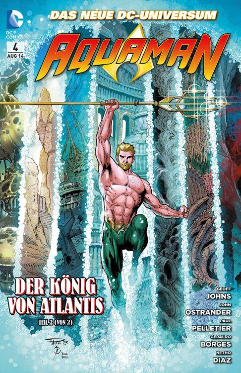 "Comicreview: Aquaman Band 4 – ""Der König von Atlantis"""