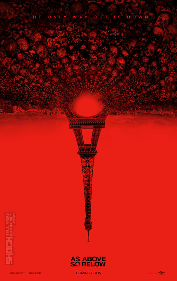 As Above So Below Poster1 Der Trailer zu As Above, So Below ist völlig zurecht NSFW