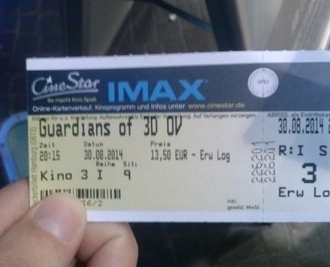 CAM01470 e1409503606181 680x549 Guardians of the Galaxy: Wisst ihr noch, wie ich euch sagte, der Film wird bestimmt total gut?