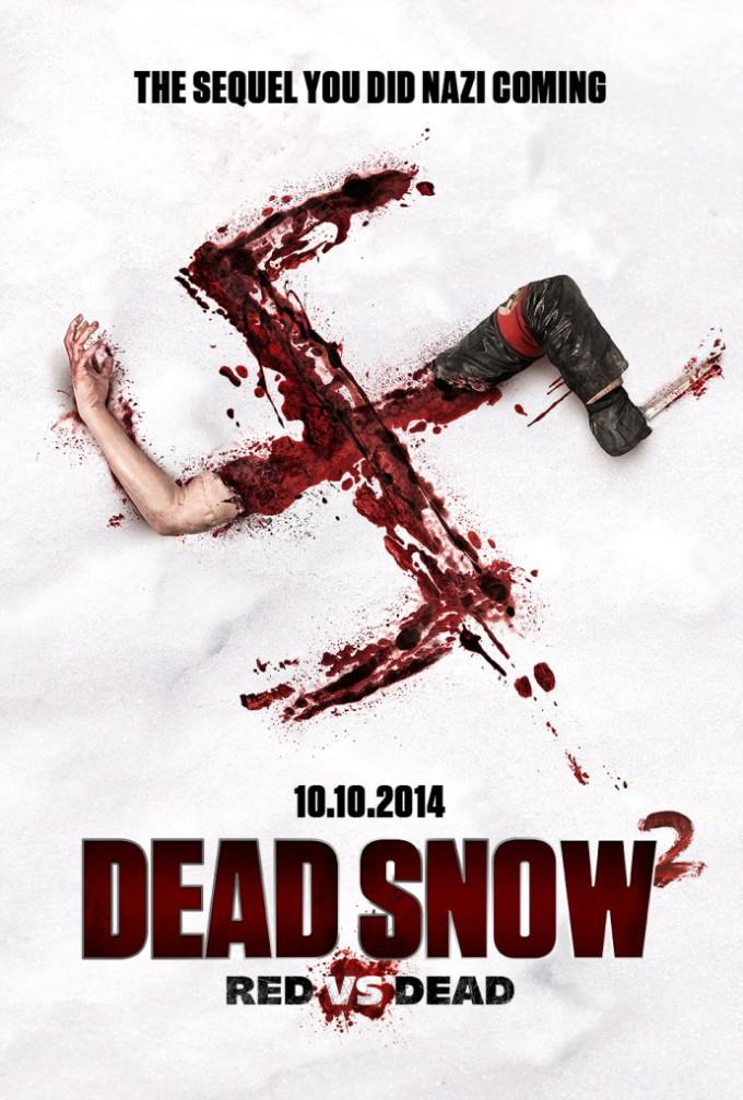 Dead Snow 2 Poster1 680x1007 Dead Snow 2: Red vs. Dead hat einen neuen, offiziellen Trailer