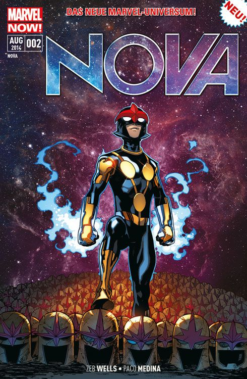 "Comicreview: ""Nova"" Band 2"