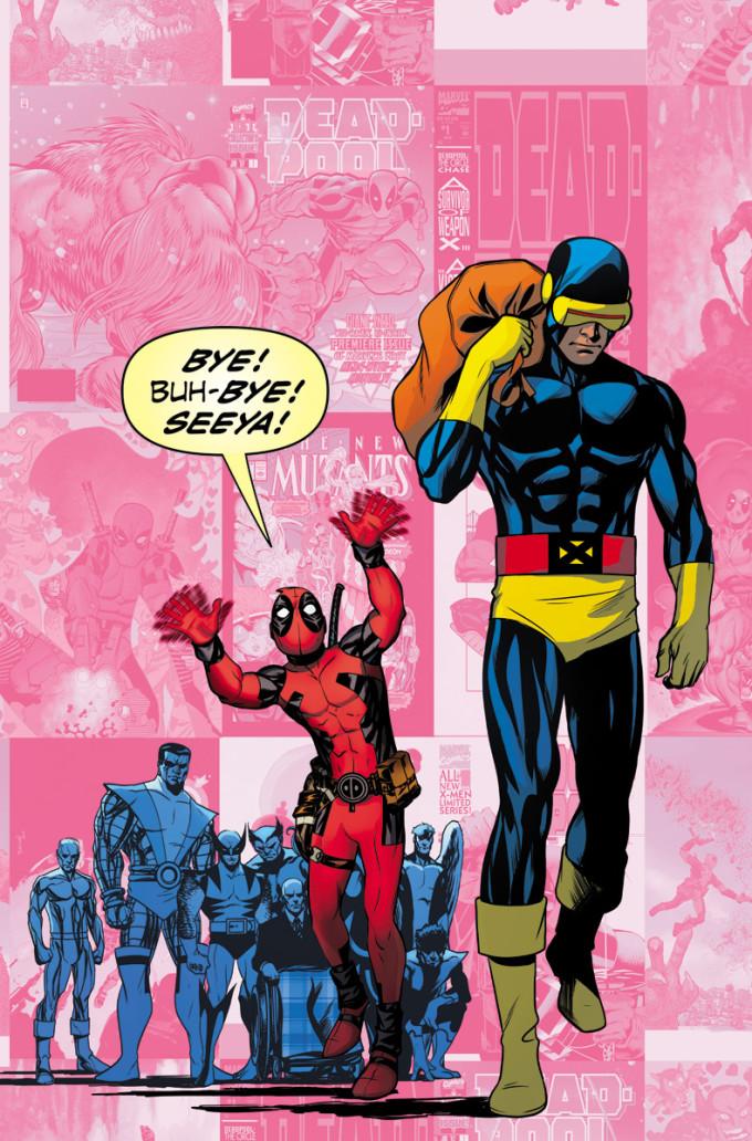 Uncanny X Men 27 McKone Deadpool 75th Variant f4f77 680x1032 Zum 75. Geburstag von Marvel photobombt Deadpool klassische Comiccover
