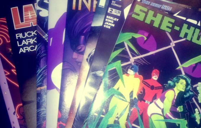 o matic1 e1409169115451 680x432 Meine Comickäufe vom 20. August 2014 (Daredevil, Lazarus, She Hulk, Alex + Ada, Grayson uvm.)