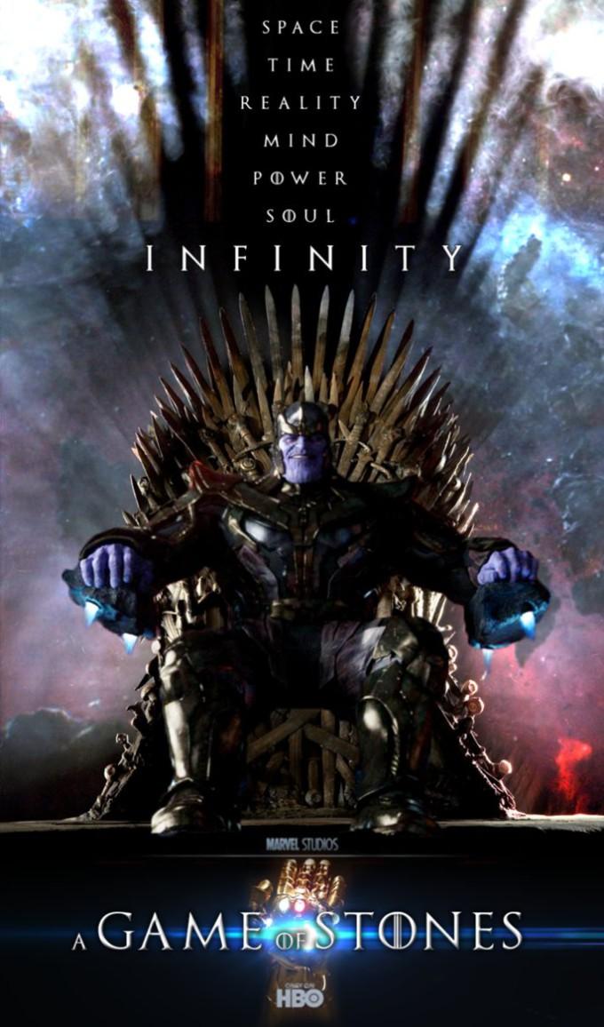 thanos  game of thrones by meksicano d7uz1os1 680x1156 A Game of Stones: Thanos auf dem Iron Throne