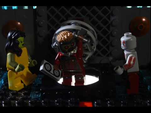 011 LEGO Guardians of the Galaxy regeln das Problem mit Star Lords Mixtape