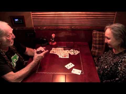 05 Willie Nelson erzählt seiner Schwester Bobbie mit einem Kartentrick eine Geschichte