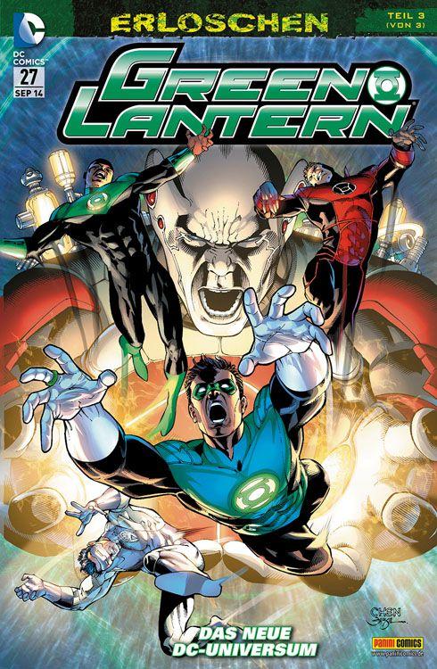 Comicreview: Green Lantern #27