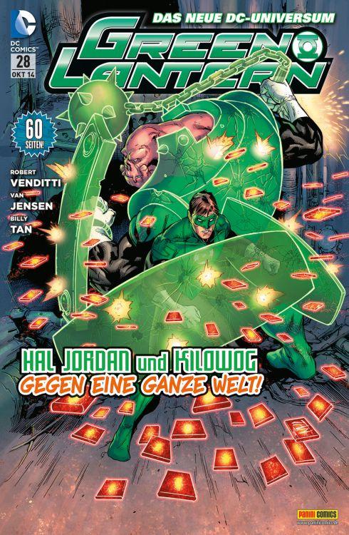 Comicreview: Green Lantern #28