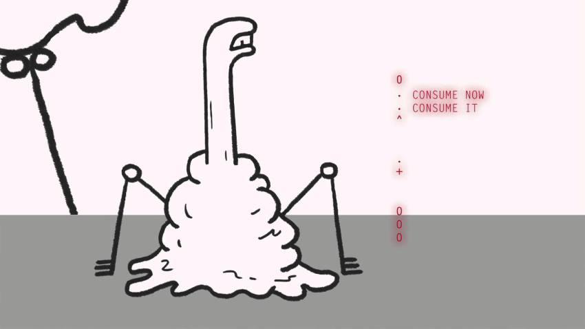 """Don Hertzfeldt animiert einen """"The Simpsons""""-Couch-Gag und alles ist abgefuckt"""