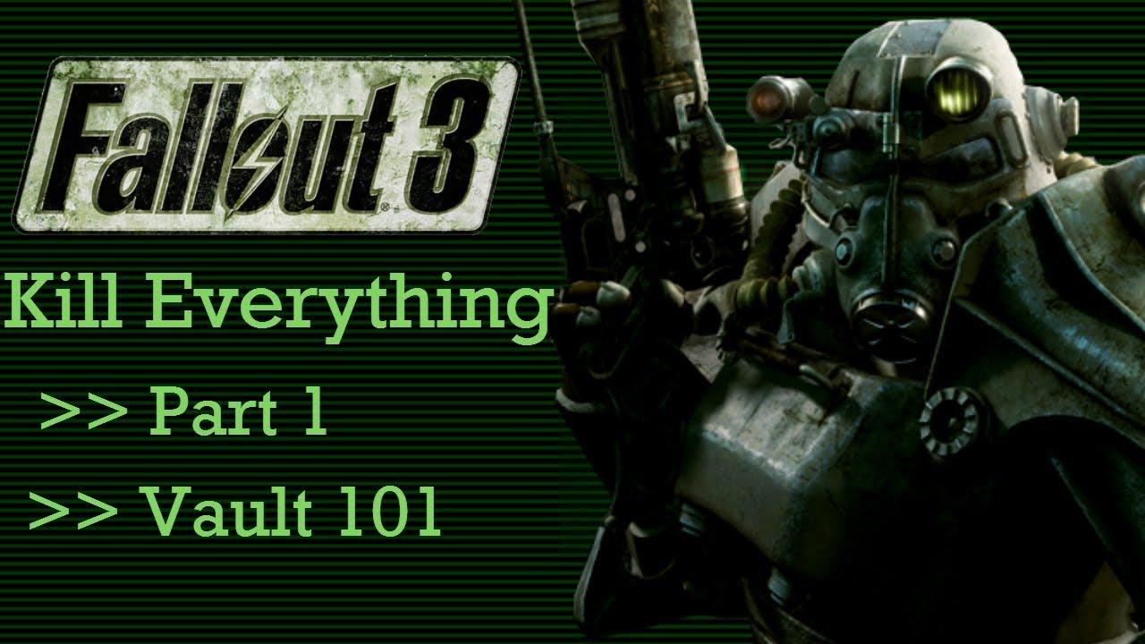 """… und dann war da der Typ, der einfach ALLES in """"Fallout 3″ töten wollte"""