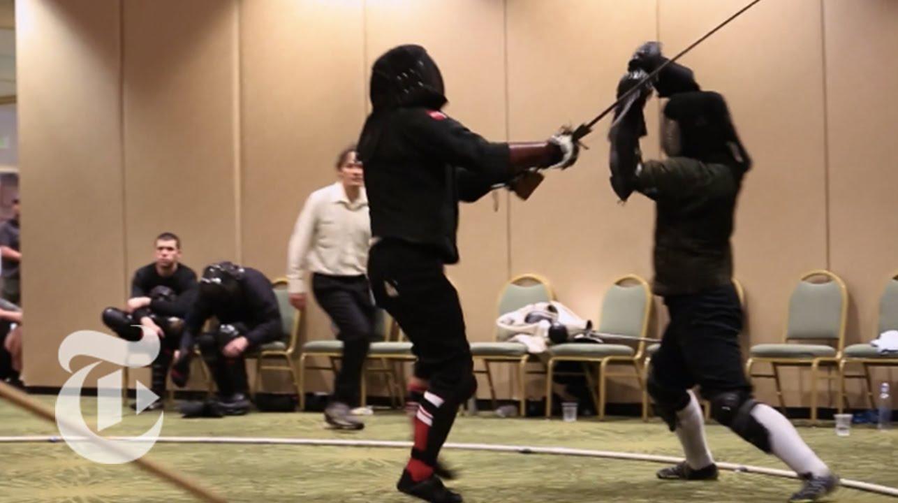 Der Kampf mit dem Langschwert wurde zu einer modernen Kampfsportart und niemand hat's gemerkt