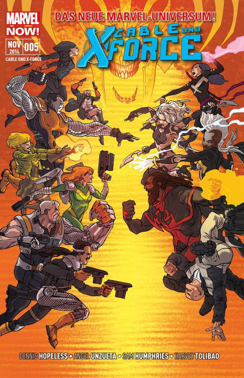 "Comicreview: ""Cable & X-Force"" Bd. 5 – Finale"