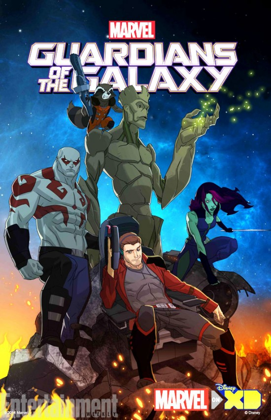 gotg1 Die Guardians of the Galaxy bekommen eine animierte TV Serie!