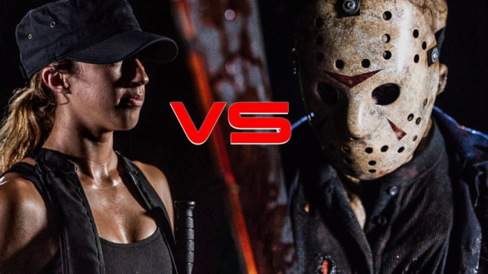 "In ""Slash/Up"" treten Sarah Connor und Jason Vorhees gegeneinander an!"