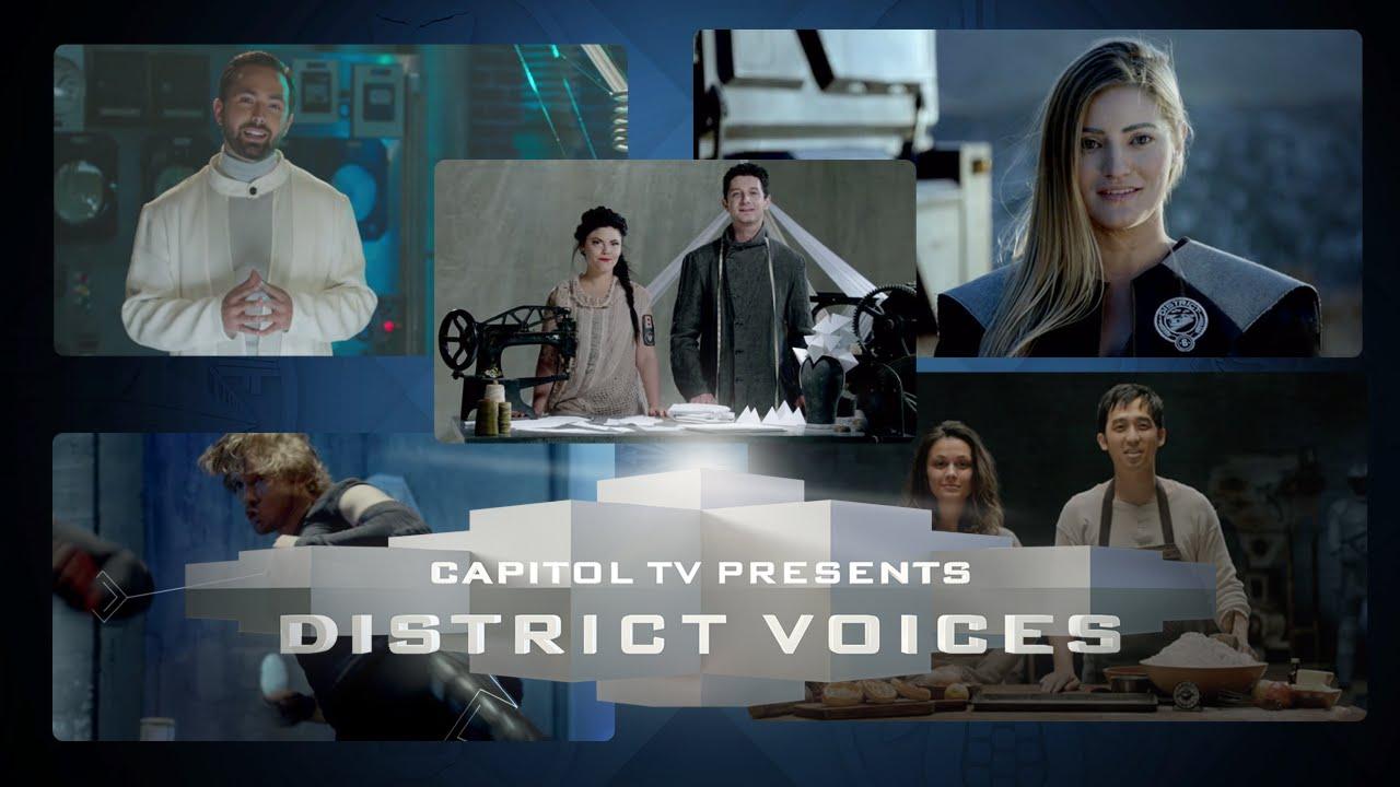 maxresdefault5DIQMQHW District Voices ist eine tolle Propaganda Webserie für The Hunger Games