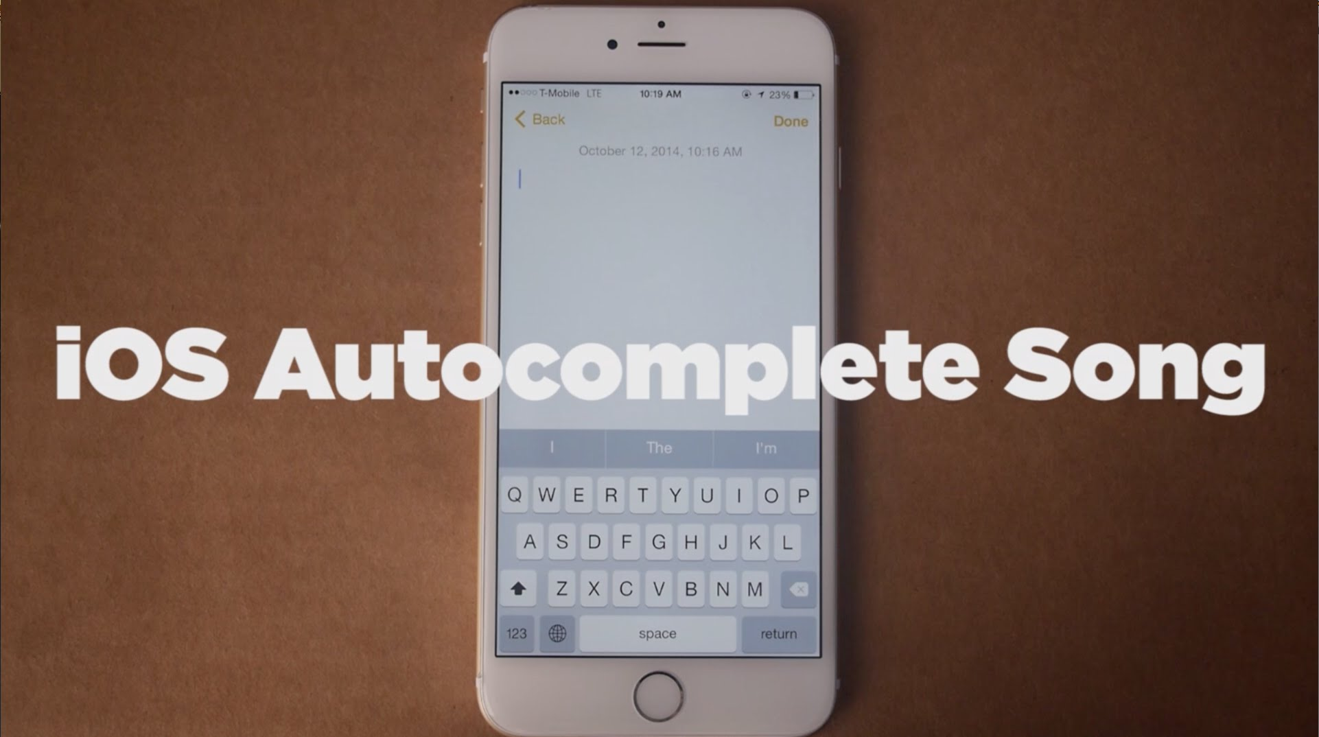 maxresdefault6SM6WNS5 iOS Autocomplete Song