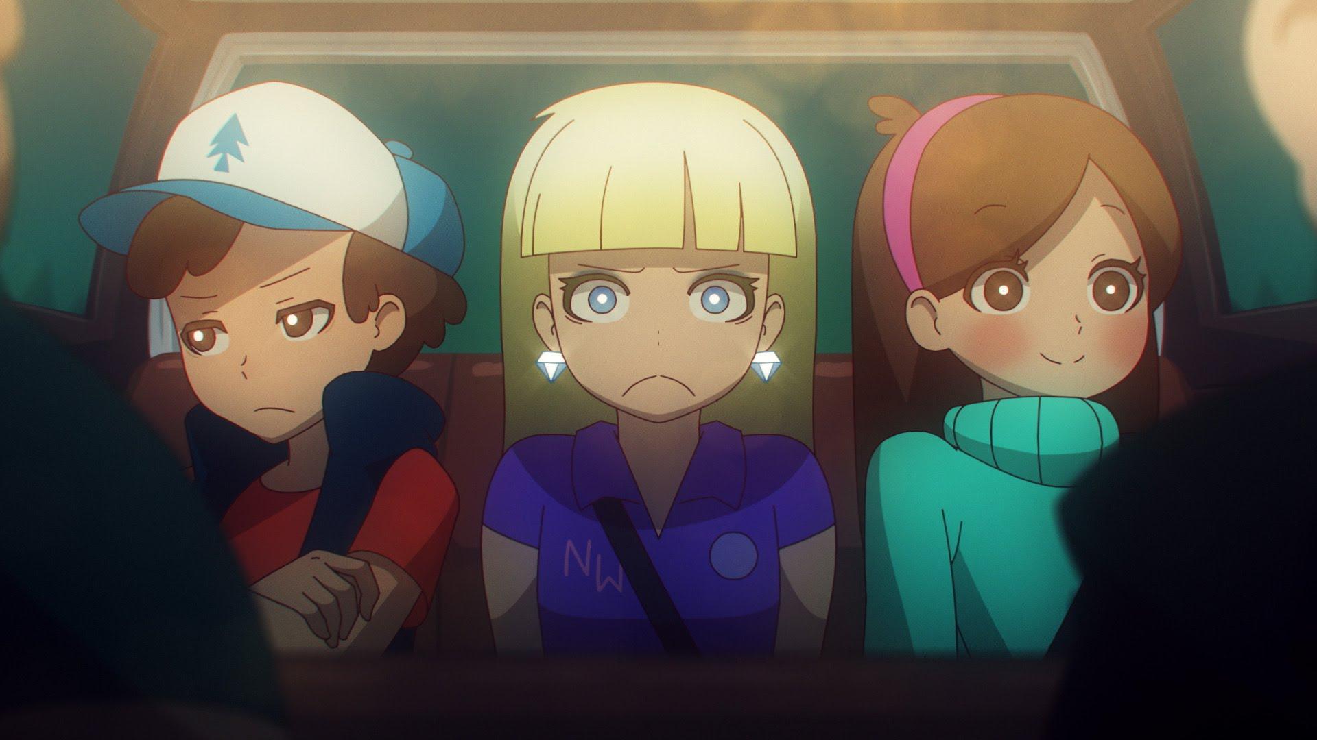maxresdefault9J41CK75 Gravity Falls als Anime