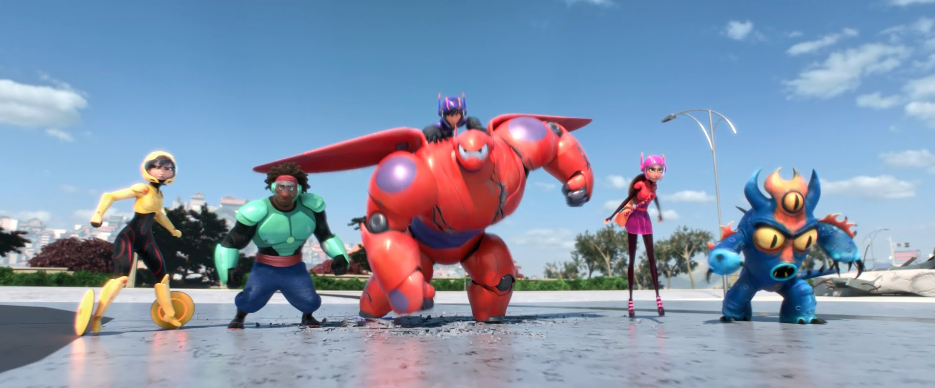 maxresdefaultJSAF04AX Es gibt noch/wieder Fall Out Boy, denn sie vertonten den neuen Trailer zu Big Hero 6