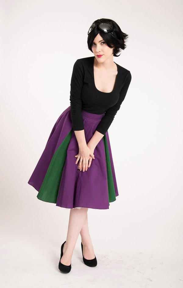 skirt catwoman1 Hallo Ladies: Superhero Circle Skirts für das alltägliche Superheldendasein