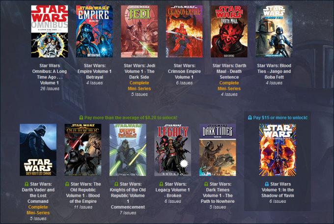 star wars bundle1 680x456 Humble Bundle schnürt uns ein Paket mit Star Wars Comics von Dark Horse