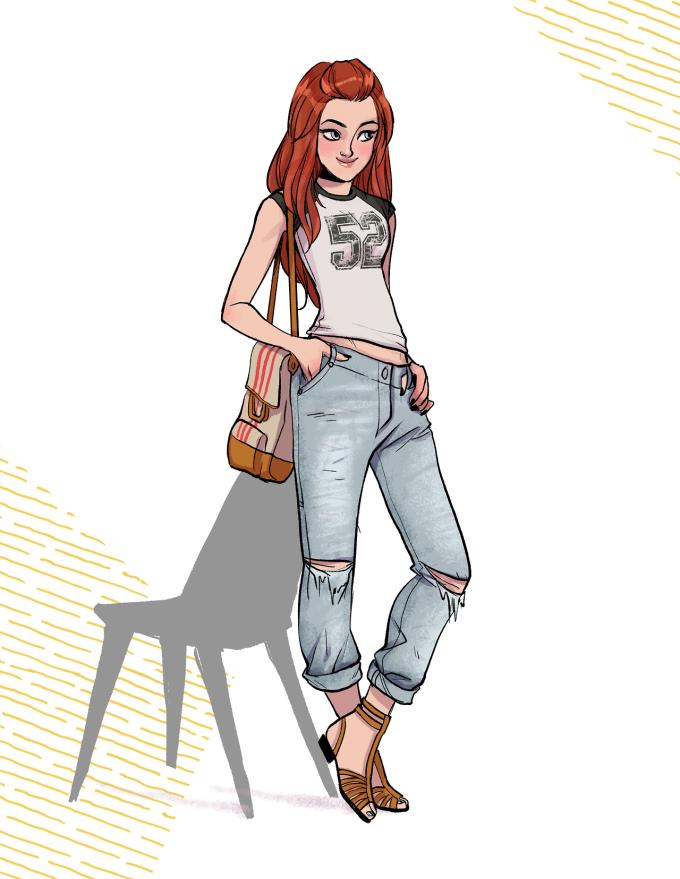 tumblr ndrgmvNzvi1tggwujo1 r1 12801 680x879 Batgirl ist ja jetzt ein Hipster Mädchen, dafür aber auch ein modisches Vorbild