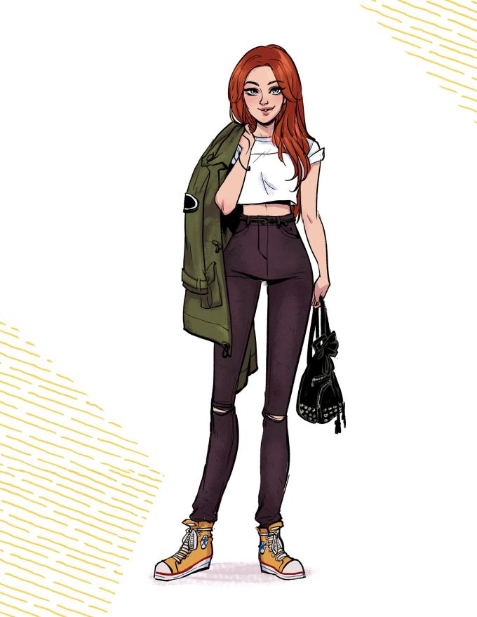 tumblr ndrgmvNzvi1tggwujo3 12801 680x879 Batgirl ist ja jetzt ein Hipster Mädchen, dafür aber auch ein modisches Vorbild