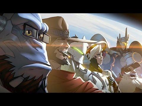 01 Blizzard kann noch was anderes, außer Spiele, die auf  craft enden: Zum Beispiel Overwatch