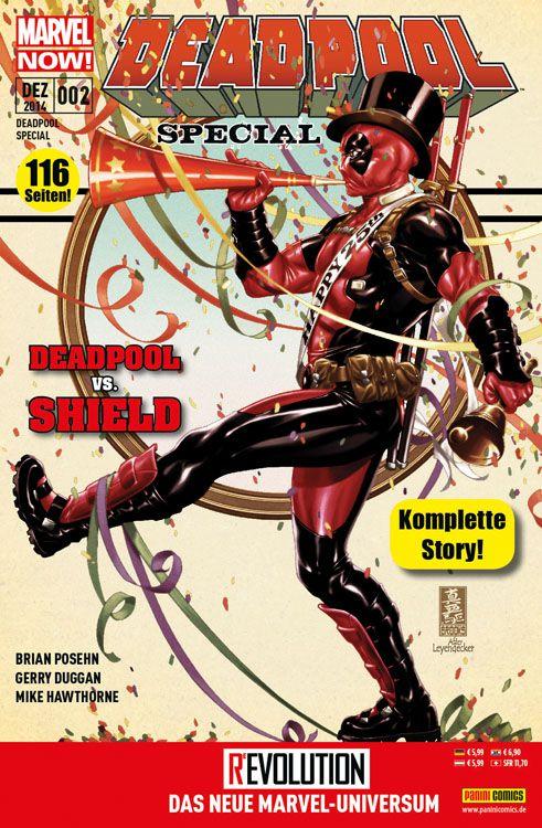 DEADPOOLSPECIAL2DEADPOOLVS.SHIELD Heft 4461 Comicreview: Deadpool vs. SHIELD   Deadpool Special #2