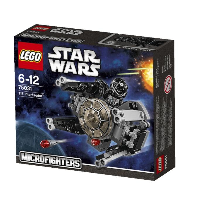 75031 TIE Interceptor TM Packung 680x680 Weihnachten im Weltraum: Gewinnt eins von zwei LEGO Star Wars Microfighter Sets!