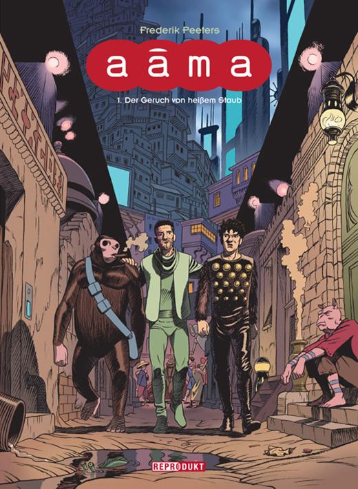 """Comicreview: """"Aâma 1: Der Geruch von heißem Staub"""" von Frederick Peeters (inklusive Verlosung)"""