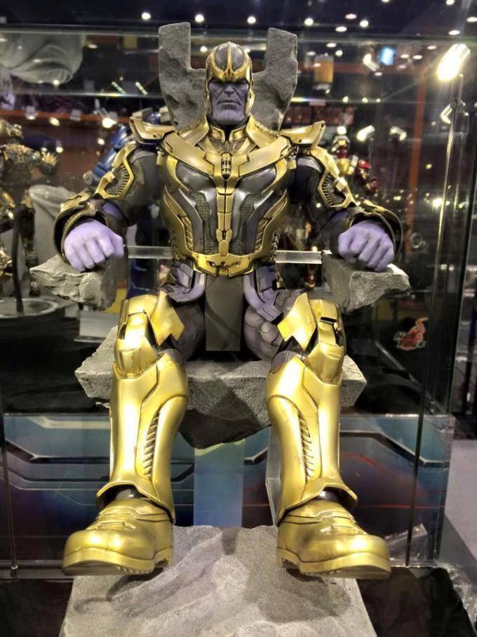 Hot Toys Thanos Figure at Toy Soul 2014 680x907 Hot Toys veröffentlicht Bilder vom Hulk Buster Iron Man und Thanos auf der Hong Konk Toy Soul 2014