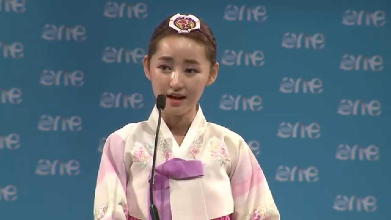 Yeonmi Park erzählt von ihrem Leben und ihrer Flucht aus Nord Korea