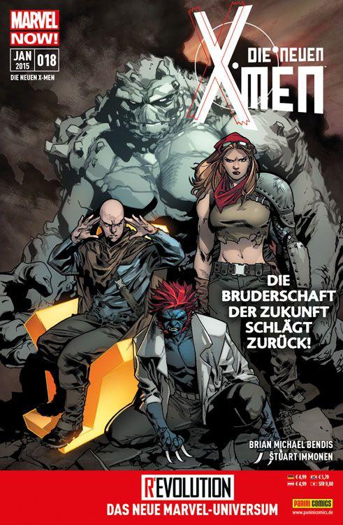 Comicreview: Die neuen X-Men #18