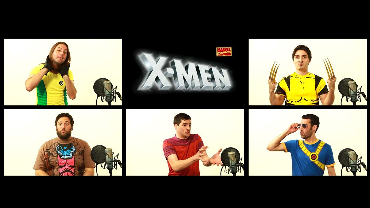 """Der Theme-Song der """"X-Men"""" in A Capella und überhaupt alle X-Men seit immer"""