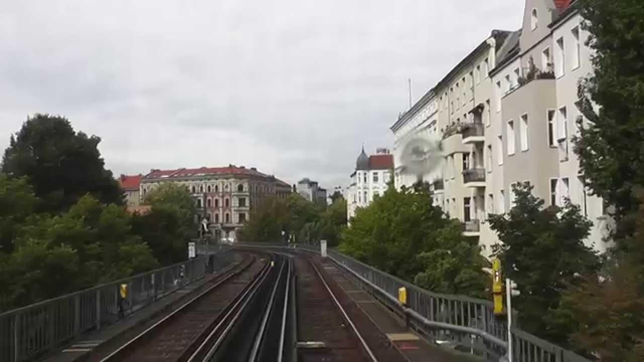 Der Untergrund Berlins: Im Führerstand der U1 von der Warschauer Straße bis Uhlandstraße