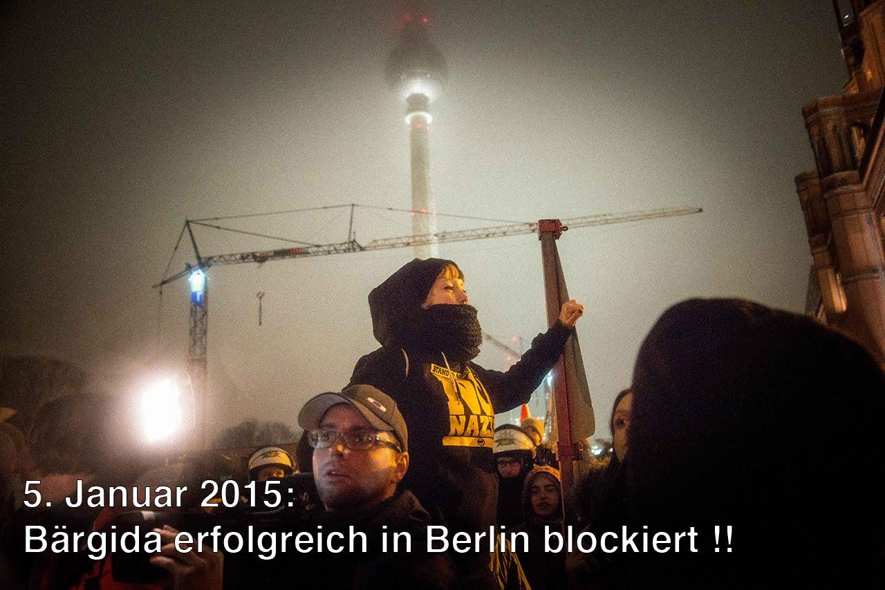 Ein Video von der #Bärgida, der #PEGIDA Demonstration in Berlin