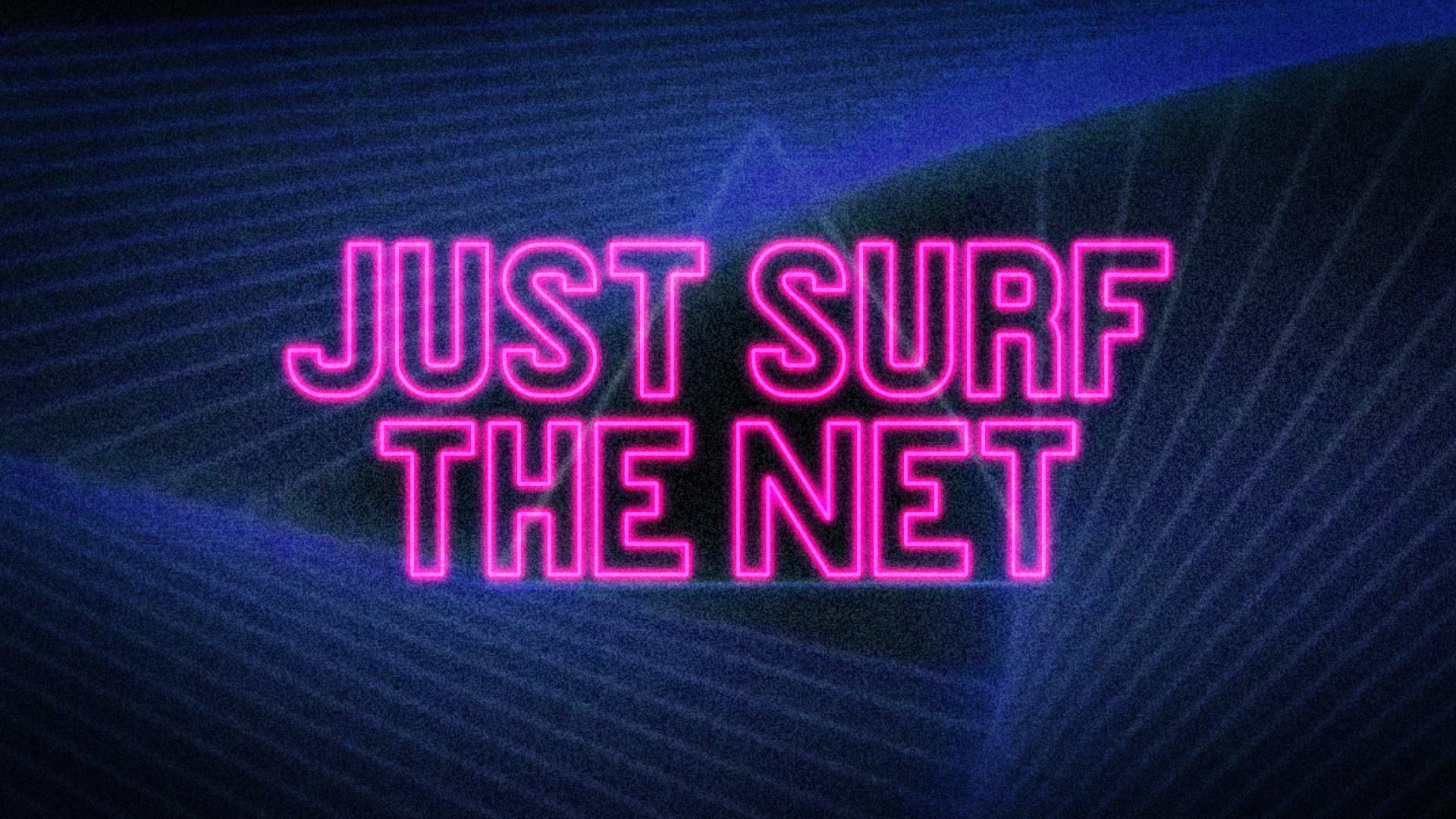 """""""JUST SURF THE NET"""" ist eine Hymne aus 90s Internet Instruction Videos"""