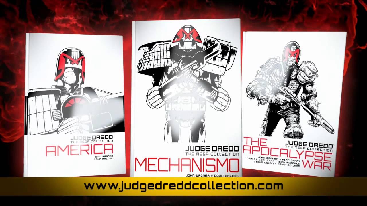 Was DC und Marvel können, kann Judge Dredd schon lange: Nämlich eine Hardcover Collectors Edition in 38 Bänden