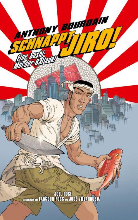 """Comicreview: """"Schnappt Jiro – Eine Sushi-Mörder-Ballade"""""""