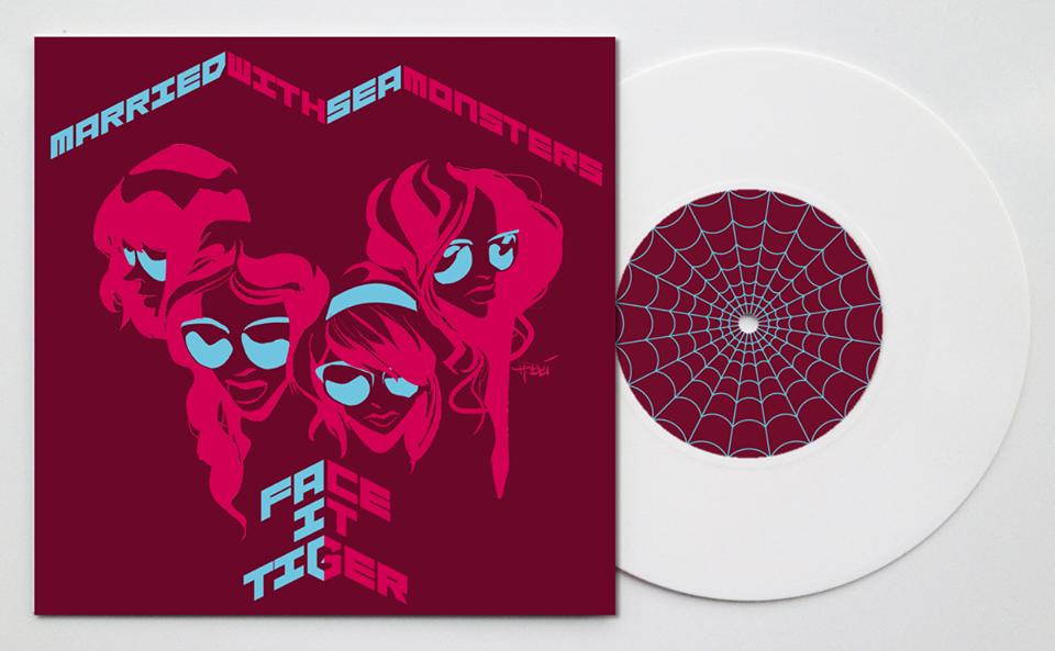 """Der Spider-Gwen-Song """"Face it Tiger"""" von den Mary Janes auf Vinyl!"""