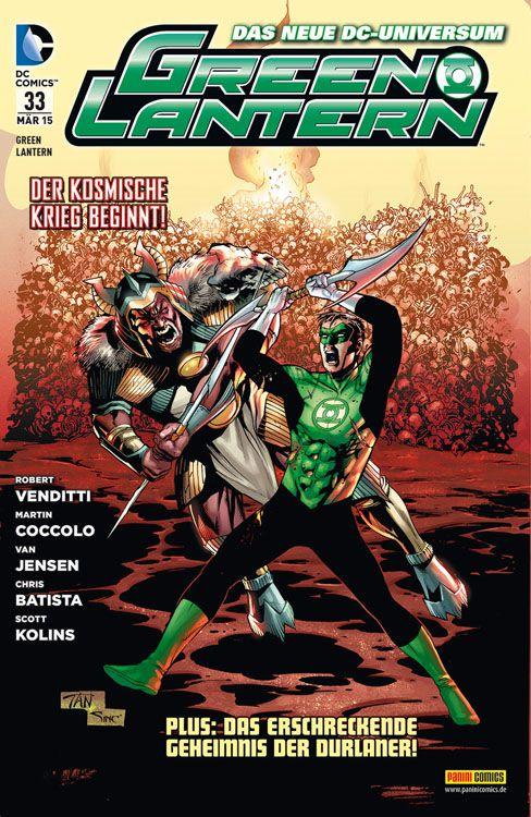 Comicreview: Green Lantern #33