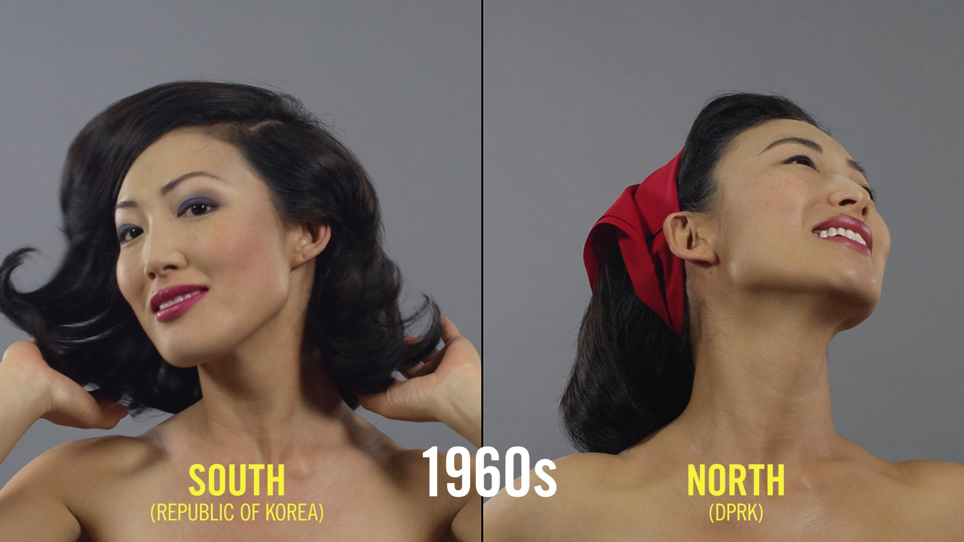 100 Jahre Schönheitsideal in Korea