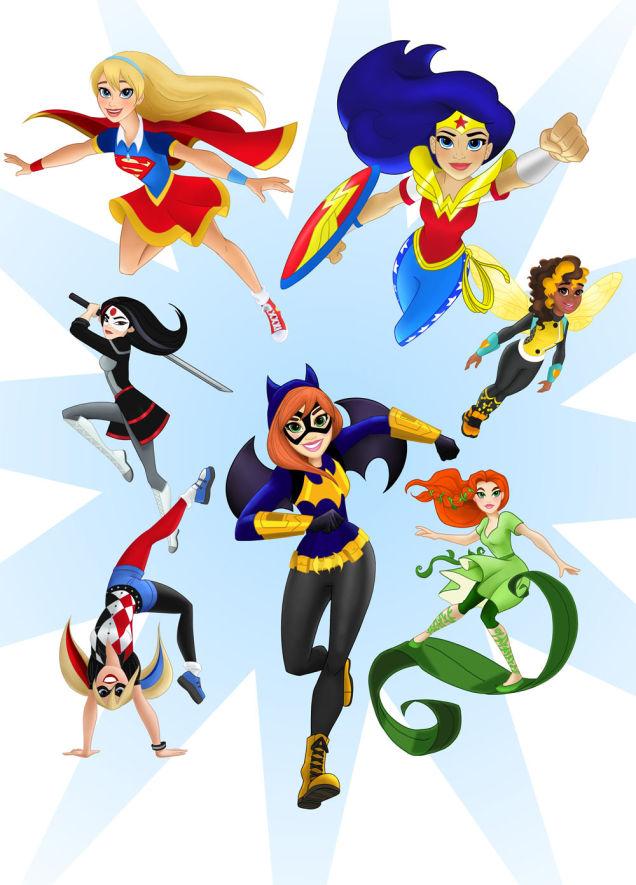 DC macht jetzt Superhelden für junge Mädchen von 6-12